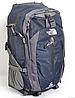 Рюкзак туристический The North Face на 50 литров(каркасный) - темно-синий, черный, фото 2