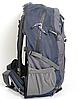 Рюкзак туристический The North Face на 50 литров(каркасный) - темно-синий, черный, фото 3