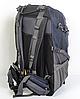 Рюкзак туристический The North Face на 50 литров(каркасный) - темно-синий, черный, фото 4