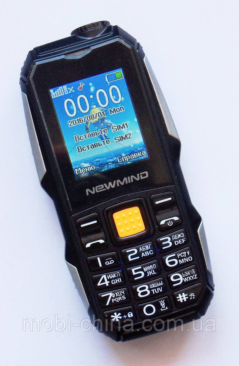 Противоударный LAND ROVER Newmind F6000 dual (2600 mAh) black
