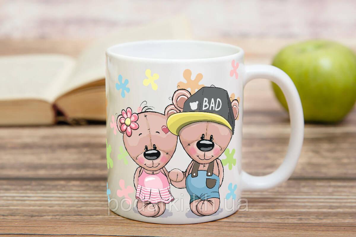 Милая чашка влюбленных