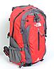 Рюкзак туристический The North Face на 50 литров(каркасный) - красный, фото 2