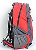 Рюкзак туристический The North Face на 50 литров(каркасный) - красный, фото 3