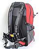 Рюкзак туристический The North Face на 50 литров(каркасный) - красный, фото 4