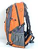 Рюкзак туристический The North Face на 50 литров(каркасный) - оранжевый, фото 4