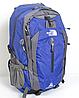 Рюкзак туристический The North Face на 50 литров(каркасный) - синий, фото 2