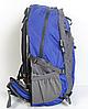 Рюкзак туристический The North Face на 50 литров(каркасный) - синий, фото 3