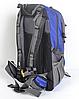 Рюкзак туристический The North Face на 50 литров(каркасный) - синий, фото 4