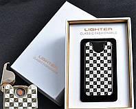 """Спиральная USB-зажигалка """"Абстракция"""" №4783А-4, в подарочной упаковке, спираль накаливания, модный аксессуар"""