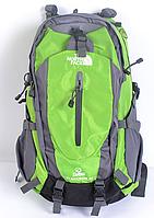 Рюкзак туристический The North Face на 40 л - салатовый