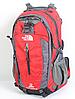 Рюкзак туристический The North Face на 40 л - красный, фото 2
