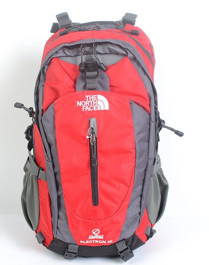 Рюкзак туристический The North Face на 40 л - красный