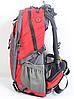 Рюкзак туристический The North Face на 40 л - красный, фото 3