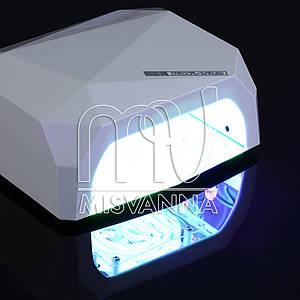 УФ лампа CCFL+LED DIAMOND на 36 Вт (white) 1