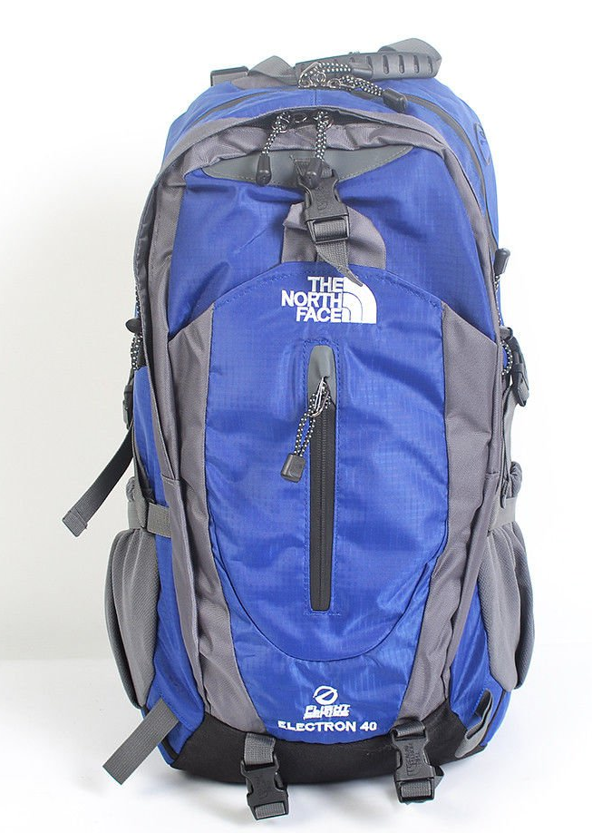 Рюкзак туристичний The North Face на 40 л - синій