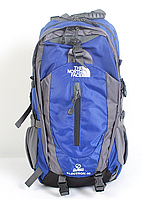 Рюкзак туристический The North Face на 40 л - синий