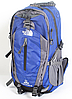 Рюкзак туристичний The North Face на 40 л - синій, фото 2