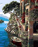 Рисование по номерам 40×50 см. Солнечная Италия