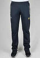 Спортивные брюки мужские Puma Ferrari 3445 Тёмно-серые