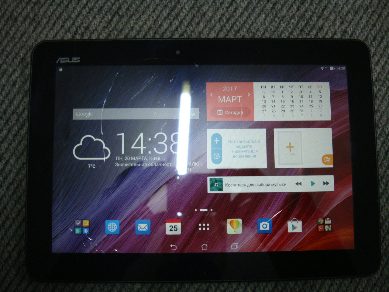 "Б/у планшет 10.1"" Asus Transformer Pad TF103 16GB 3G"
