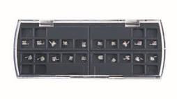 Металлические брекеты Roth Crystal mini набор