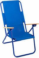 Комфортабельное раскладное кресло Ш-99-1: метал + ткань, 6,6 кг
