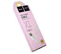 Кабель USB  USB 3.1 Type C, Hoco X1 Rapid, White, 1 м