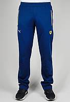Спортивные брюки мужские Puma Ferrari 3447 Тёмно-синие