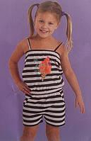 Летняя распродажа. Ромпер, комбинезон для девочки. Размер: 98/104, 110/116.