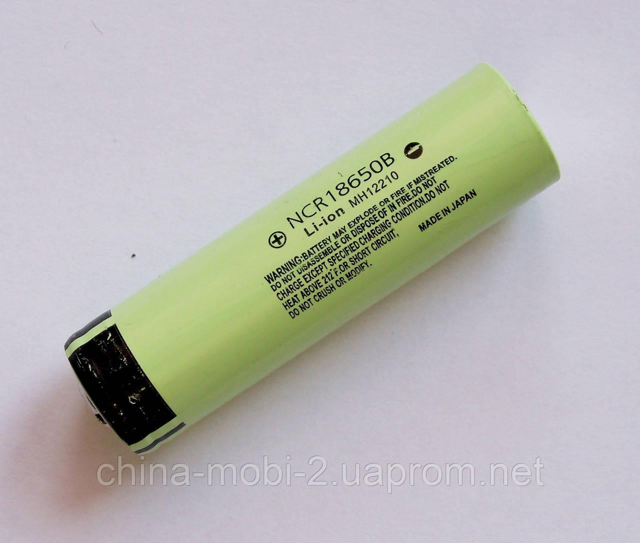 Акумулятор Li-Ion NCR18650B 3.7-4.2 V 3400mAh green