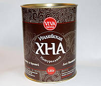 VIVA henna Хна для биотату и бровей тон:-коричневый, 120 гр.
