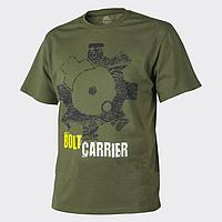 Футболка Helikon-Tex® T-Shirt Print Bolt Carrier - US Green