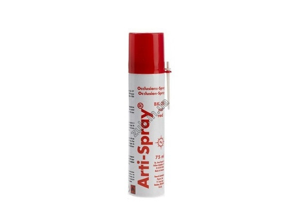 Окклюзионный спрей Bausch Arti-Spray BK286 червоний