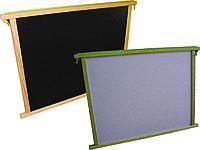 Доска для рисования двухсторонняя большая ArIn WOOD (02-012)