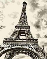 Картины по номерам 40×50 см. Эйфелева башня, фото 1