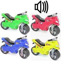 Мотоцикл игрушка 2-х колесный из сигналом 501 в.3