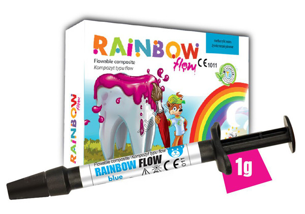 Світлотвердіючий композит Rainbow-Flow Blue