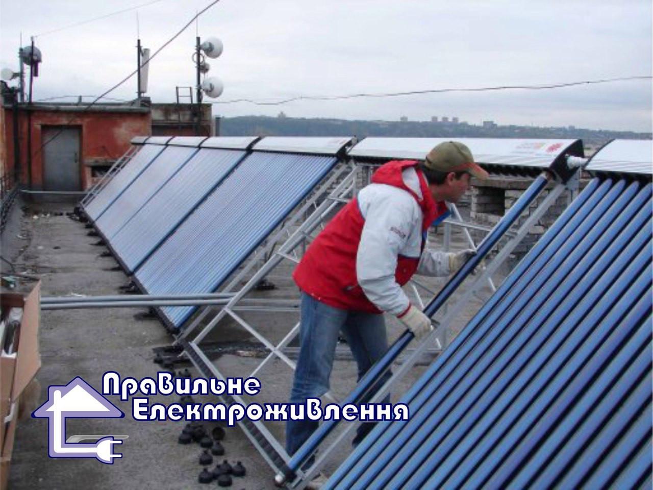 Монтаж геліосистем  - Правильне електроживлення в Львове