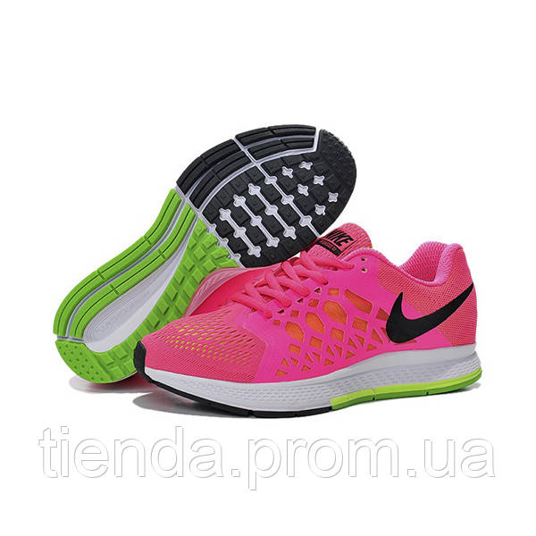 ff01ec0c Женские кроссовки Nike Air Zoom Pegasus 31 Pink Black Green -