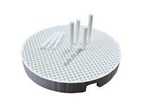 Подставка для обжига керамики круглая 2 шт. + 20 керамических пинов