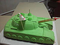 "Торт на заказ ""Танк"""