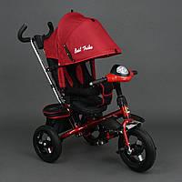 Велосипед трехколесный с поворотным сиденьем Best Trike 6590 (красный)