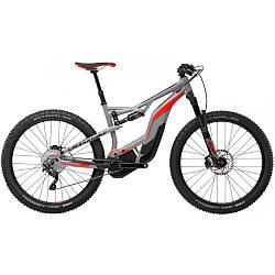 "Велосипед 27,5+"" Cannondale Moterra 2 2017 серый"