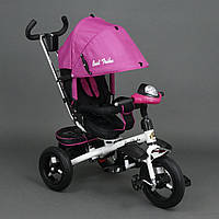 Велосипед трехколесный с поворотным сиденьем Best Trike 6590 (розовый)