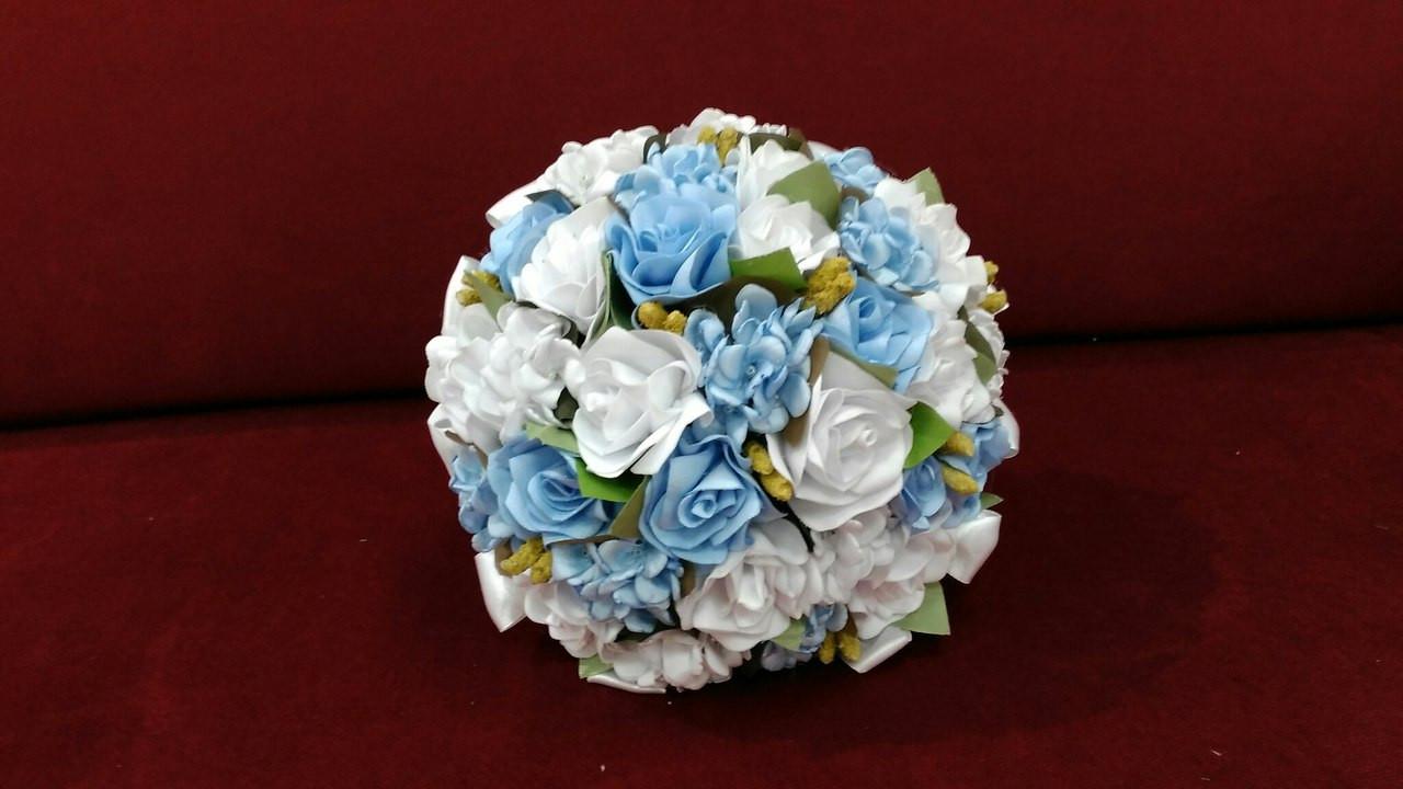 35020841d44a1a9 Свадебный букет-дублер бело голубой: продажа, цена в Харькове ...