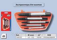 Набор для высверливания винтов,  Top Tools  14A105