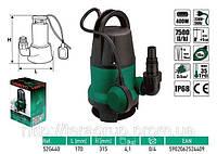 Погружной насос для сточных вод 400 Вт,  VERTO  52G440