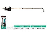 Телескопическая стойка для шлиф. машины мини,  VERTO  51G002