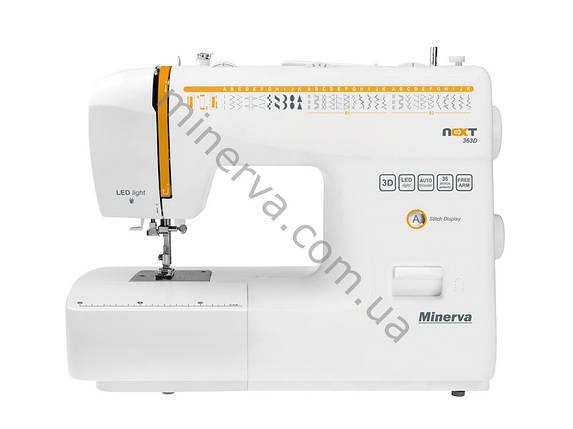 """Швейная машинка Minerva NEXT 363D """"M-N363D"""" + набор для шитья в ПОДАРОК, фото 2"""