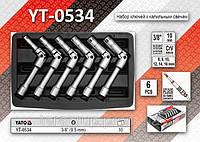 """Набор ключей для свечей накала  3/8"""" - 6шт, YATO YT-0534"""